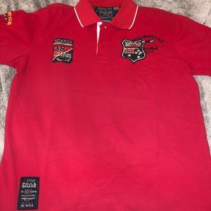 Paul & Shark Vintage Yachting Mens Red Polo Size M
